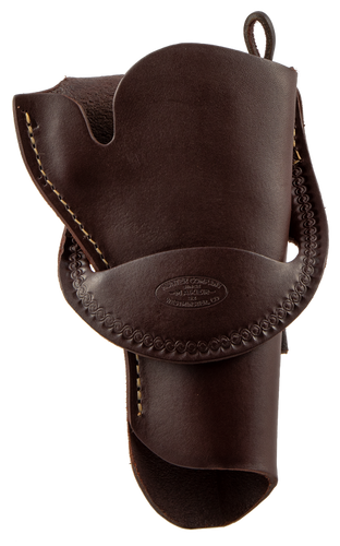 "Hunter Crossdraw 4.625"" Single Action, Leather Brown"