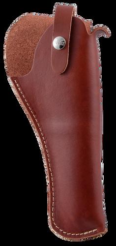 "Hunter Crossdraw 6"" Medium/Large Frame DA Revolver, Leather Brown"