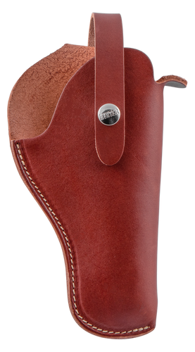 "Hunter VersaFit 6"" Medium/Large Frame DA Revolver, Leather Brown"