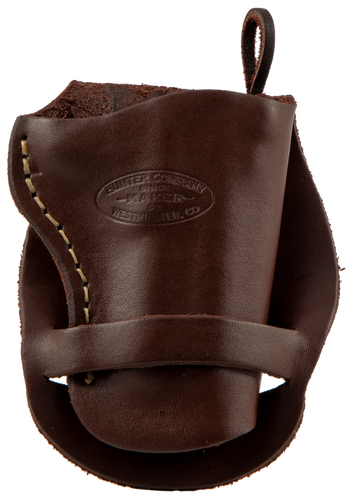 Hunter Western Double Loop Derringer, Leather Brown
