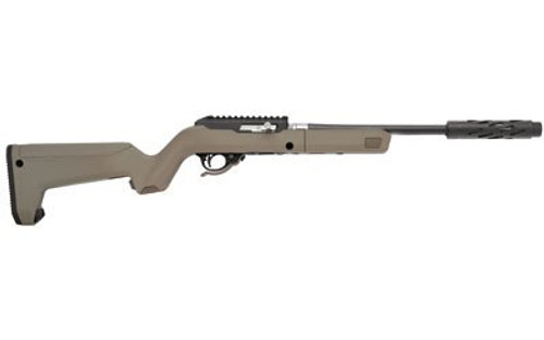 Tactical Solutions X-Ring Takedown VR, Magpul X-22 Backpacker Stock, Matte Black SBX Takedown Action / Flat Dark Earth Stock 22 Long Rifle
