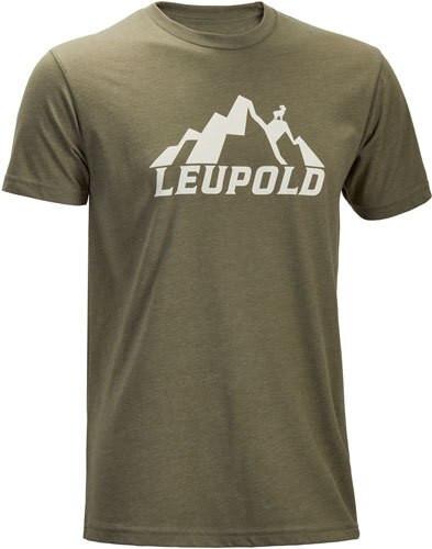 Leupold Mt. Leupold T-Shirt Lt. Olive L