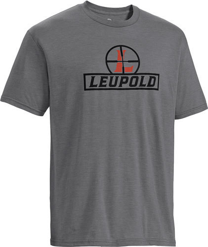 Leupold Reticle T-Shirt Heather Gray XL