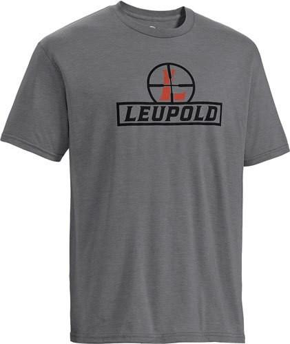 Leupold Reticle T-Shirt Heather Gray L