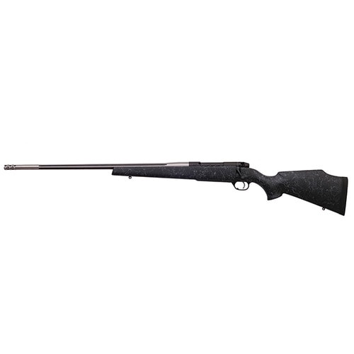 """Weatherby Mark V Accumark 300 Weatherby Mag, 26"""", Graphite Black Receiver Monte Carlo Stock Left Hand, 3rd"""