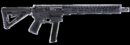 """Diamondback DB9 9mm, 16"""", Black Adjustable Magpul MOE, Black, 32rd"""