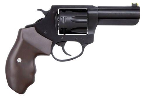 """Charter Arms Professional 32 H&R Mag, 3"""" Barrel, Walnut Grip, Black Nitride+, 7rd"""