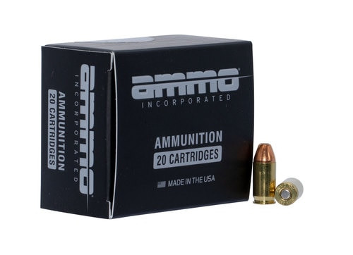 Ammo Inc American Hunter 380 Auto 90gr, Jacketed Hollow Point , 20rd Box