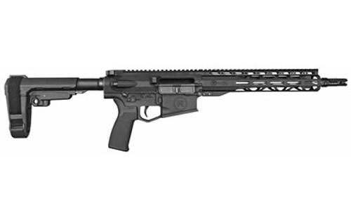 """Radical Firearms RF-10 Pistol 308 Win, 12.50"""" Barrel, SBA3 Pistol Brace, M-Lok, Black/Stainless, 20rd"""