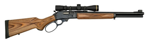 "Marlin 1895 Cape Hunter Package 45-70, 18"" Barrel, Leupold VX3i Scope W/Super Low Mount System"