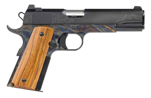 Dan Wesson Heirloom 2020 .45 ACP, Case Hardened, Engraved Slide, 8rd