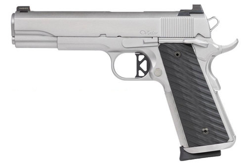 Dan Wesson Valor .45 ACP, Tritium Front, Serrated Rear, Stainless Steel, 8rd