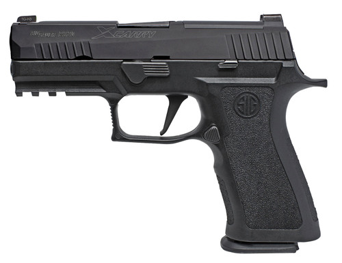 """Sig Sauer P320 XCarry 9mm, 3.9"""" Barrel, X-Ray3 Day/Night Sights, Black, 2x 10rd Mag"""