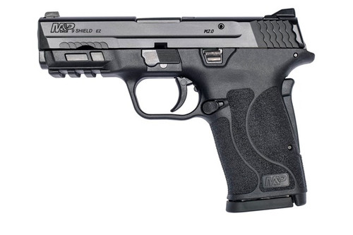 """Smith & Wesson M&P9 SHIELD EZ M2.0 Compact, 9mm, 3.675"""" Barrel, Black, No Manual Safety, 8rd"""