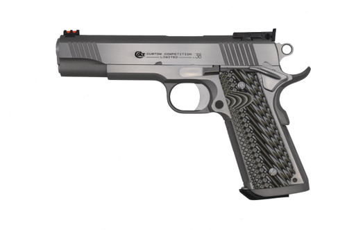 """Colt 1911 Series 70 Custom Competition .38 Super, 5"""" Barrel, Stainless, 9rd"""