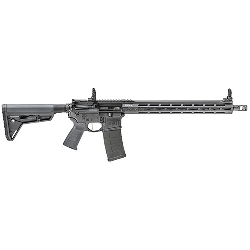 "Springfield SAINT Victor, Semi-automatic, AR, 223 Remington/556NATO, 16"" Barrel, 1:8 Twist, Gray Finish, Bravo Company Trigger Guard & Mod 0 Stock, 15"" M-LOK Free Float Handguard, Flip Up Front and Rear Low Profile Springfield Sights, 30Rd PMAG"