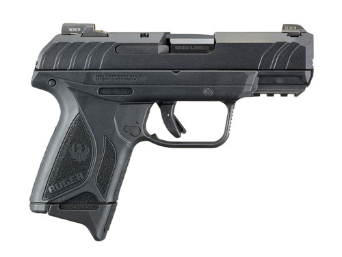 """Ruger Security-9 Pro Compact 9mm, 4"""" Barrel, Night Sights, Blued/Black, 10rd"""