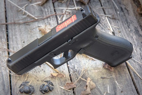 "Glock G45 Semper Fi 9mm 4"" Barrel, 1 of 1000 Limited Edition 17rd Mag"