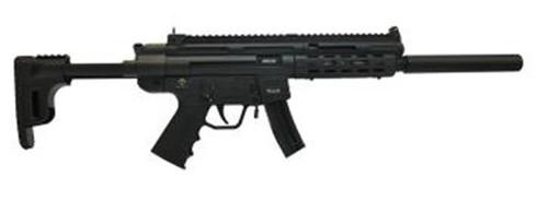 "GSG GSG-16 .22 LR, 16.25"" Barrel, Black Collapsible Stock, 10rd"