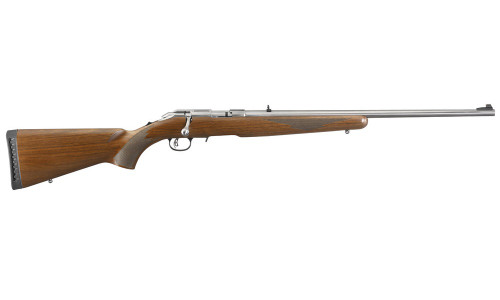 Ruger American Rimfire 22LR, Wood, Stainless Steel