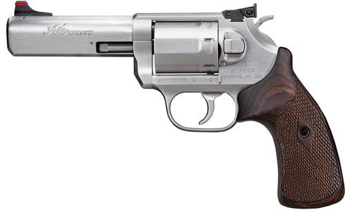 "Kimber K6s Target .357 Mag, 4"" Barrel, Compact Target Adj. Sight, Stainless, 6rd"