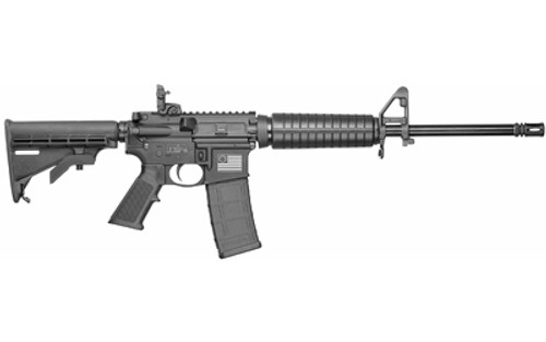 """Smith & Wesson M&P 15 Sport II 5.56mm, 16"""" Barrel, Black, 6 Position Stock, Betsy Ross Flag, 30rd"""