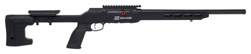 "Savage A22 Precision .22 LR, 18"" Heavy Threaded Barrel, MDT ACC Stock, Black, 10rd"