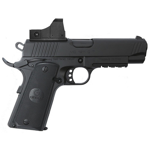 Girsan MC1911C 9mm, W/ Optic, Blued, 9rd Mag