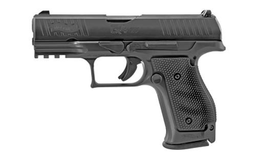 "Walther Q4 Steel Frame 9mm, 4"" Barrel, Fixed Sights, Black, 3x 15rd"