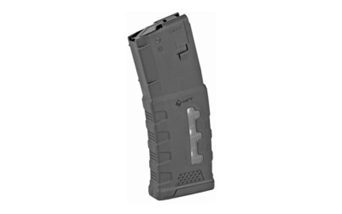 Mission First Tactical Window EXD Polymer Mag AR-15 5.56X45mm/223 Rem/300 AAC, Black, 30rd