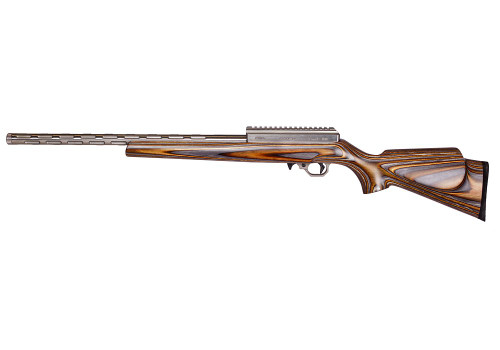 Volquartsen Summit .17 WSM, I-Fluted Barrel, 20 MOA, Brown/Gray Laminated Sporter Stock