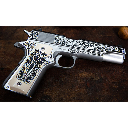 Colt 1911 .45ACP Engravers Series Lisa Tomlin 1 of 400, Limited Availability