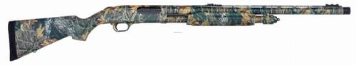 """Mossberg 835 Pump Action Shotgun, 12 Ga, 3.5"""" 24"""" bbl, Mossy Oak Camo, Turkey 4+1 Rnd, Dual Fiber Optic Sights"""