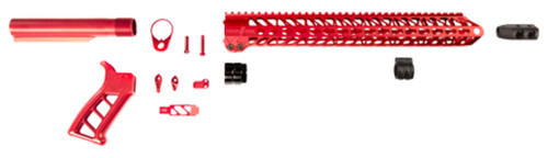 Timber Creek Enforcer AR Build Kit, Red Anodized
