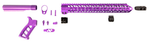 Timber Creek Enforcer AR Build Kit, Purple Anodized