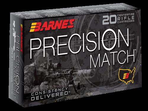 Barnes Precision Match 6.5 Creedmoor 140gr, Open Tip Match Boat Tail, 20rd Box