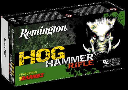 Remington Hogue Hammer 45-70 Government 300gr, Barnes TSX Flat Nose, 20rd Box