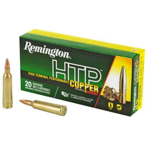Remington HTP Copper 22-250 Remington 50gr, TSX Boat Tail, 20rd Box
