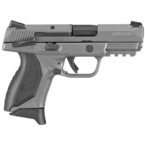 """Ruger American Pistol Striker Fired, 45 ACP, 3.75"""" Barrel, Manual Safety, Polymer Frame, Gray Finish, (3) 7rd Mags, 3 Dot Sights"""