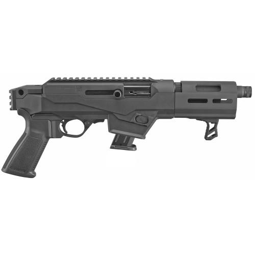 "Ruger PC Charger Pistol, 9mm, 6.5"" Barrel Threaded, Aluminum Frame, Black, 10 Round Mag, 1 Mag, Take Down"