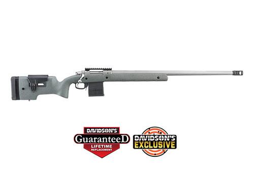 "Ruger Hawkeye Long-Range Target 6.5 Creedmoor, 26"" Barrel, Speckled Black/Gray Stock, 5rd"