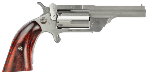 "NAA Ranger II 22 Mag 2.50"" Barrel 5rd Stainless Rosewood Bird's Head Grip"