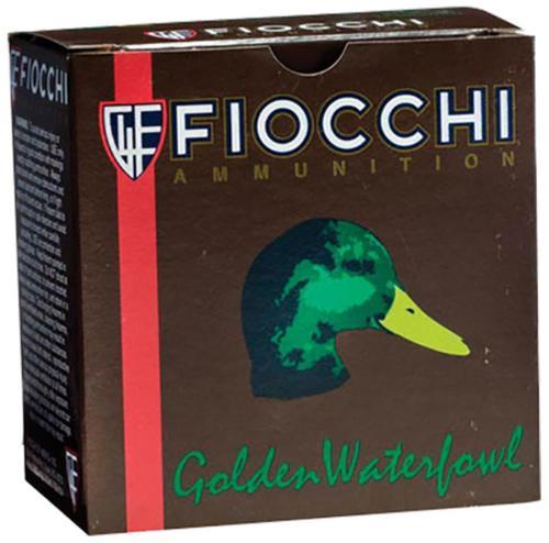 "Fiocchi BBB Steel Waterfowl Shotshells 12ga, 3"", 1-1/4oz, BBB Shot, 25rd/Box"
