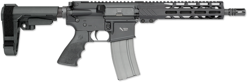 "Rock River Arms LAR-15 A4 Pistol 223 Rem,5.56 NATO 10.5"" Barrel Black Hogue Rubber SB Tactical Arm Brace"