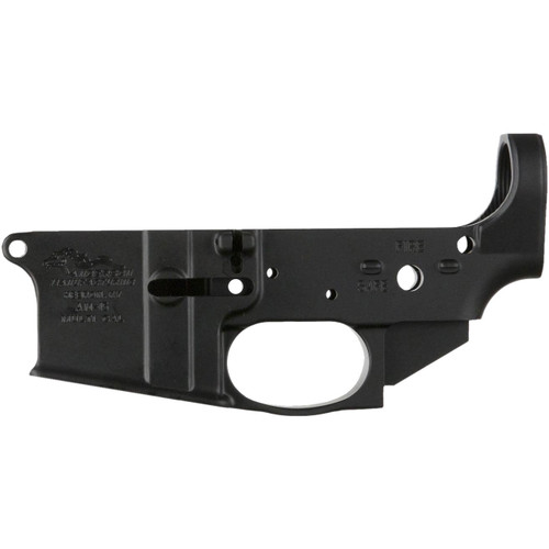 Anderson AR-15 Stripped Lower Receiver Multi-Caliber, Black Hardcoat, Closed Trigger, Packaged