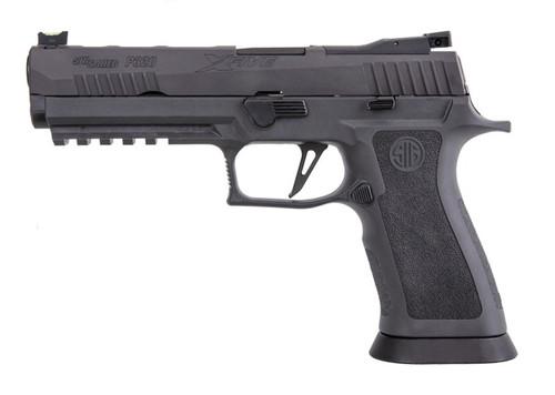 "Sig P320 XFIVE Legion 9mm, 5"" Bull Barrel, Dawson Precision Sights, Gray, Mag Coupon, 1x 17rd"