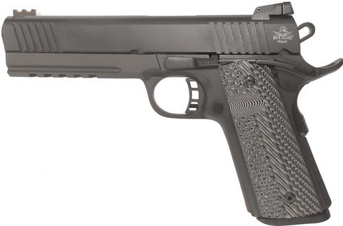 """Rock Island TAC Ultra 1911 9mm W/ 22 TCM Conversion, 5"""" Barrel, Black, 10rd"""