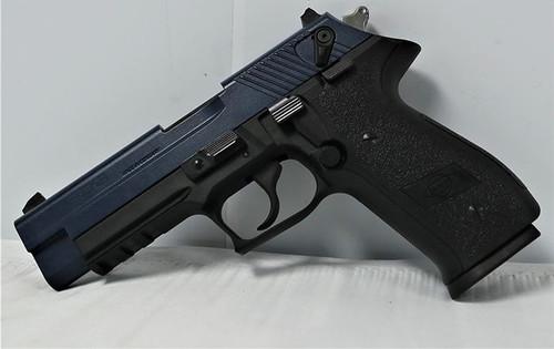 "GSG Firefly .22 LR, 4"" Barrel, Thumb Safety, 3-Dot Sights, Dark Blue/Black, 10rd"