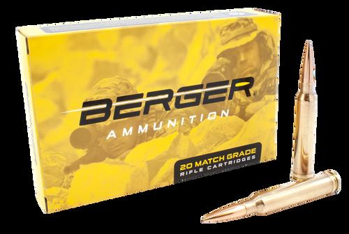 Berger Tactical 300 Win Mag 215gr, Hybrid Open Tip Match Tactical, 20rd Box