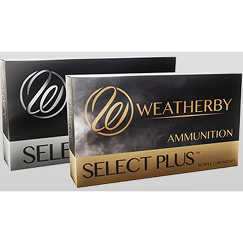 Weatherby Select Plus 6.5 Weatherby RPM 127gr, Barnes LRX Lead Free, 20rd Box